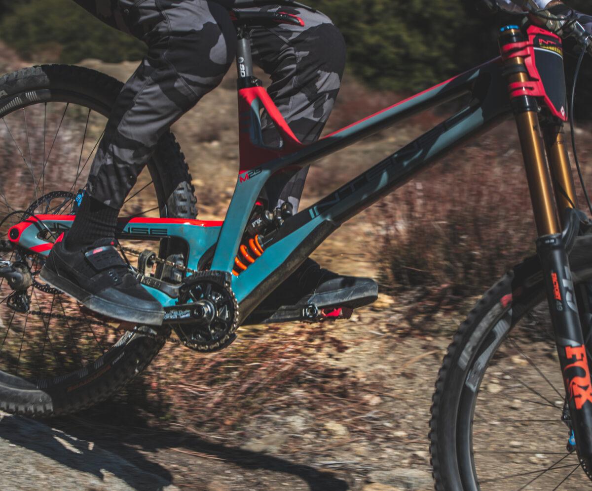 New intense downhill bike