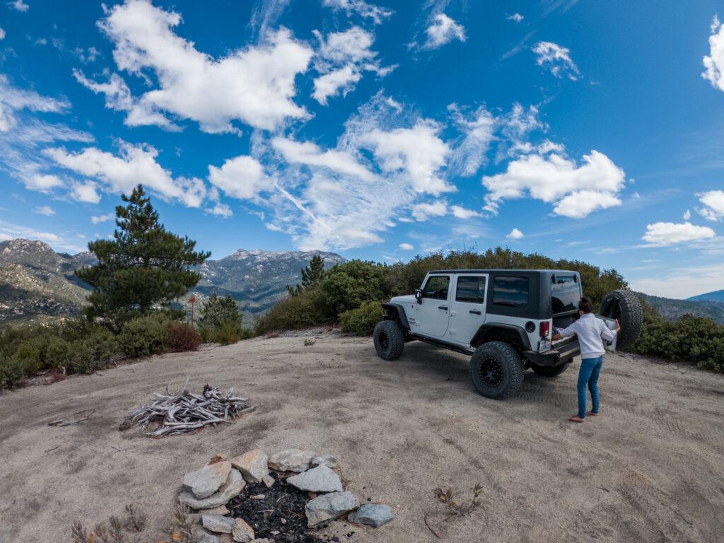 San Jacinto ridge trail