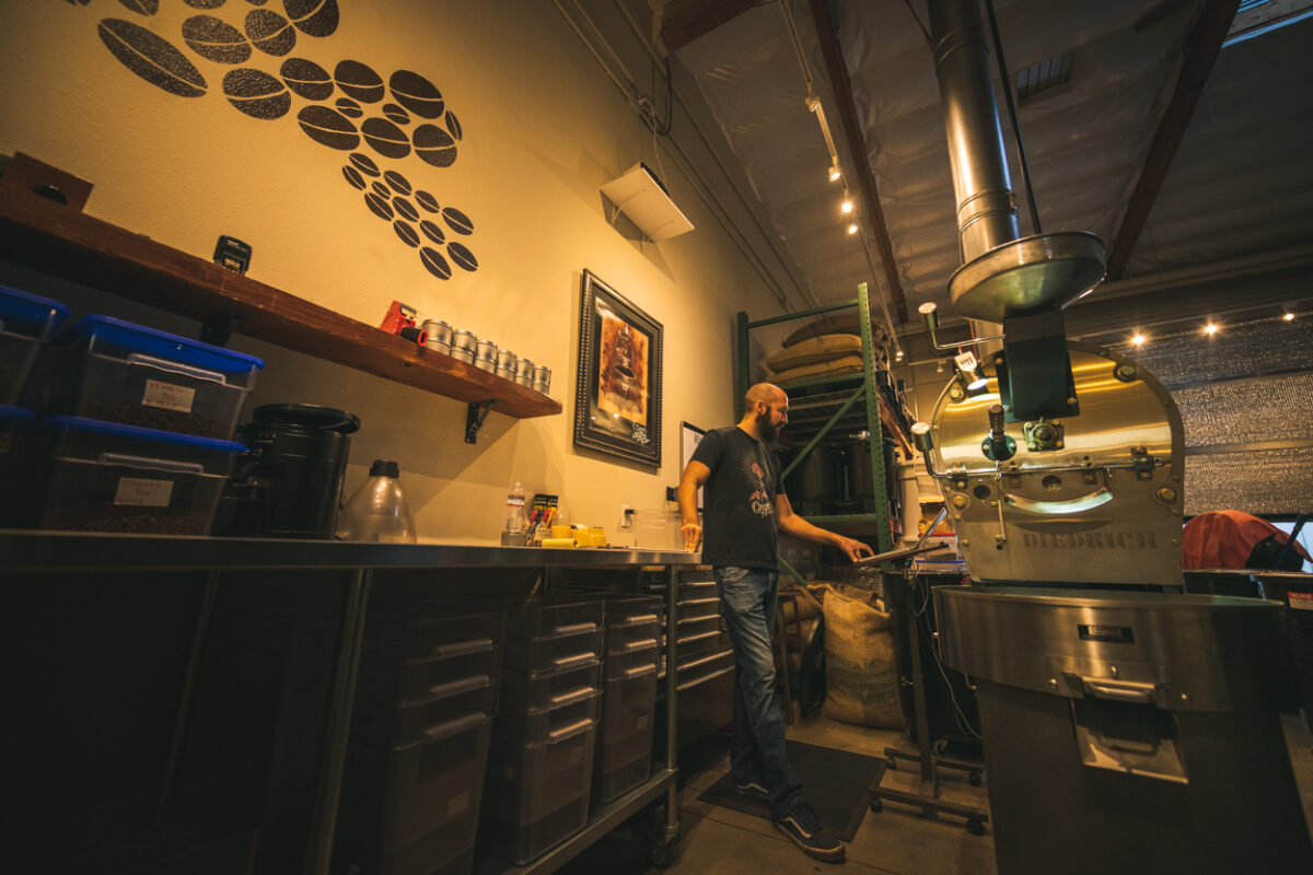 Leap coffee roasting
