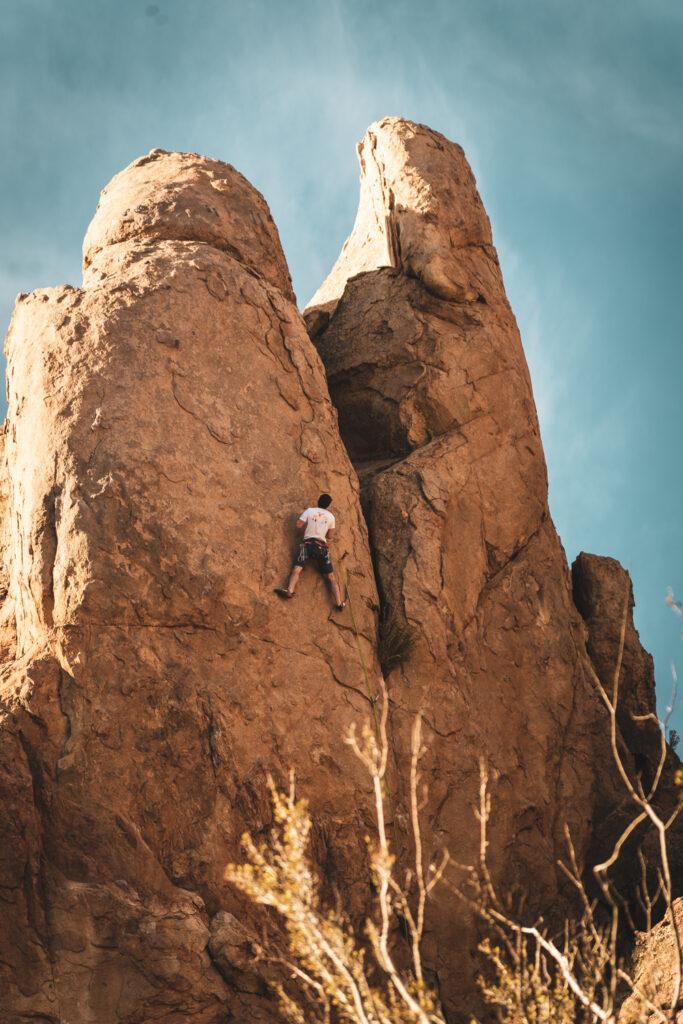 holcomb valley climbing