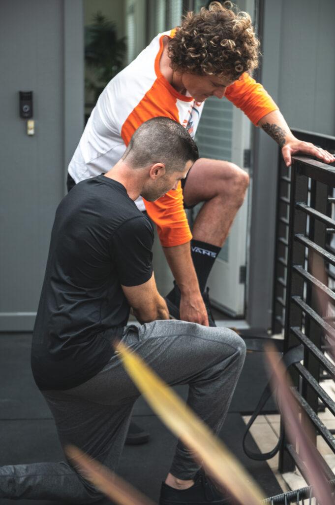 athletes therapist