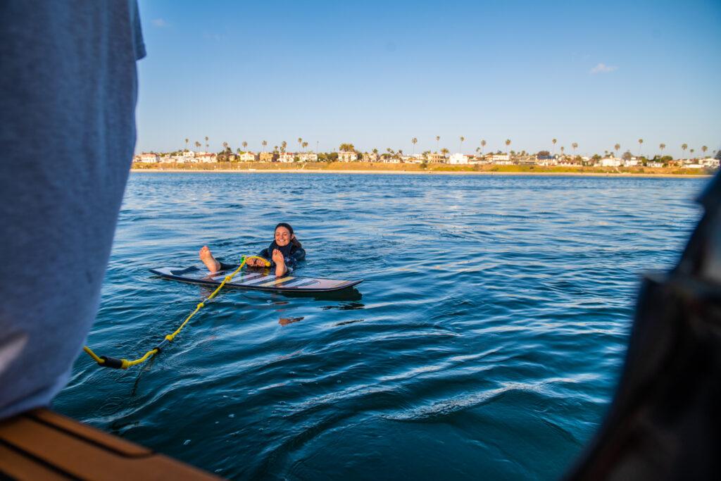 wake surfing san diego