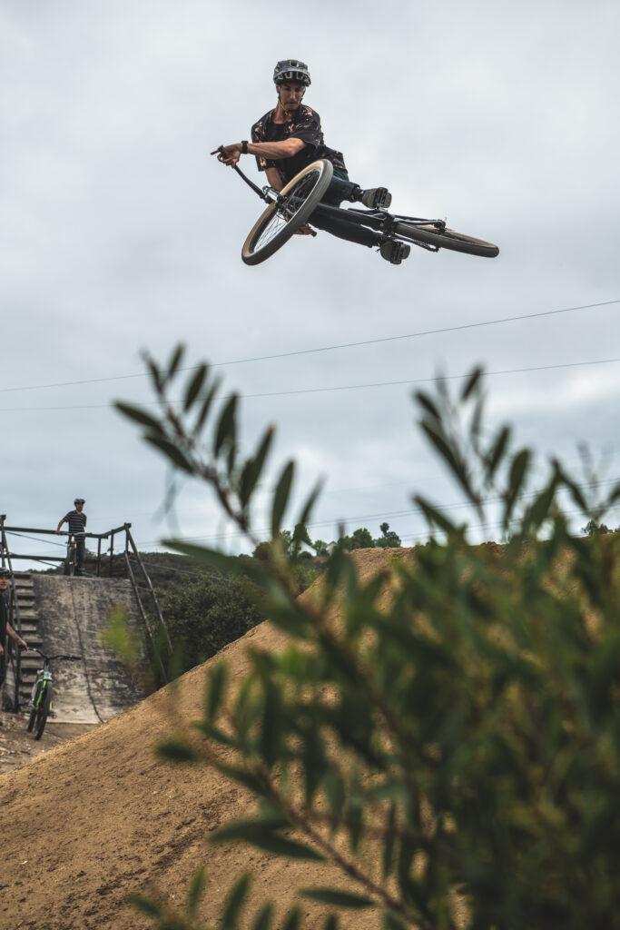 San Diego dirt jumps