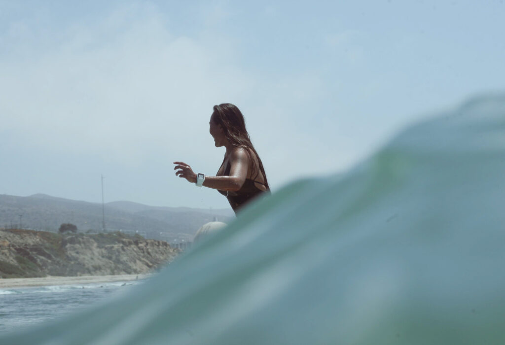 Surfing San Onofre