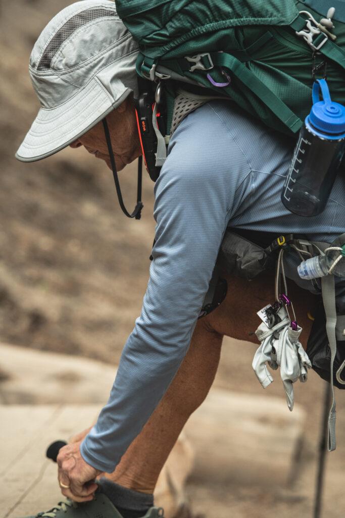 hiking Mammoth